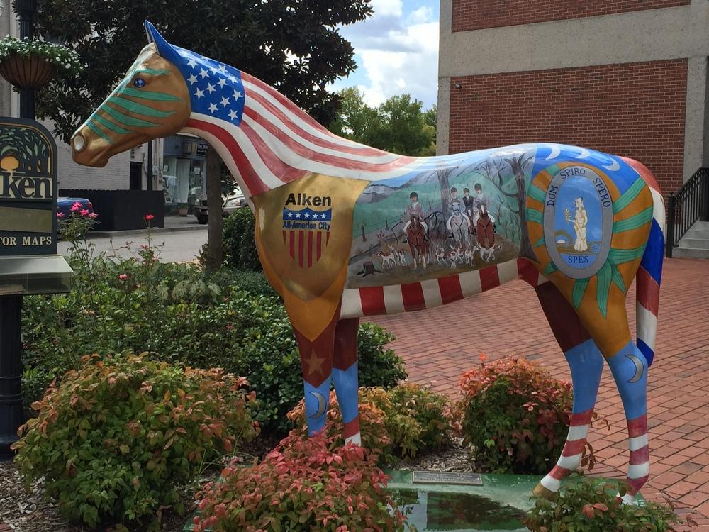 Horse Statue 2 in Aiken SC.JPG