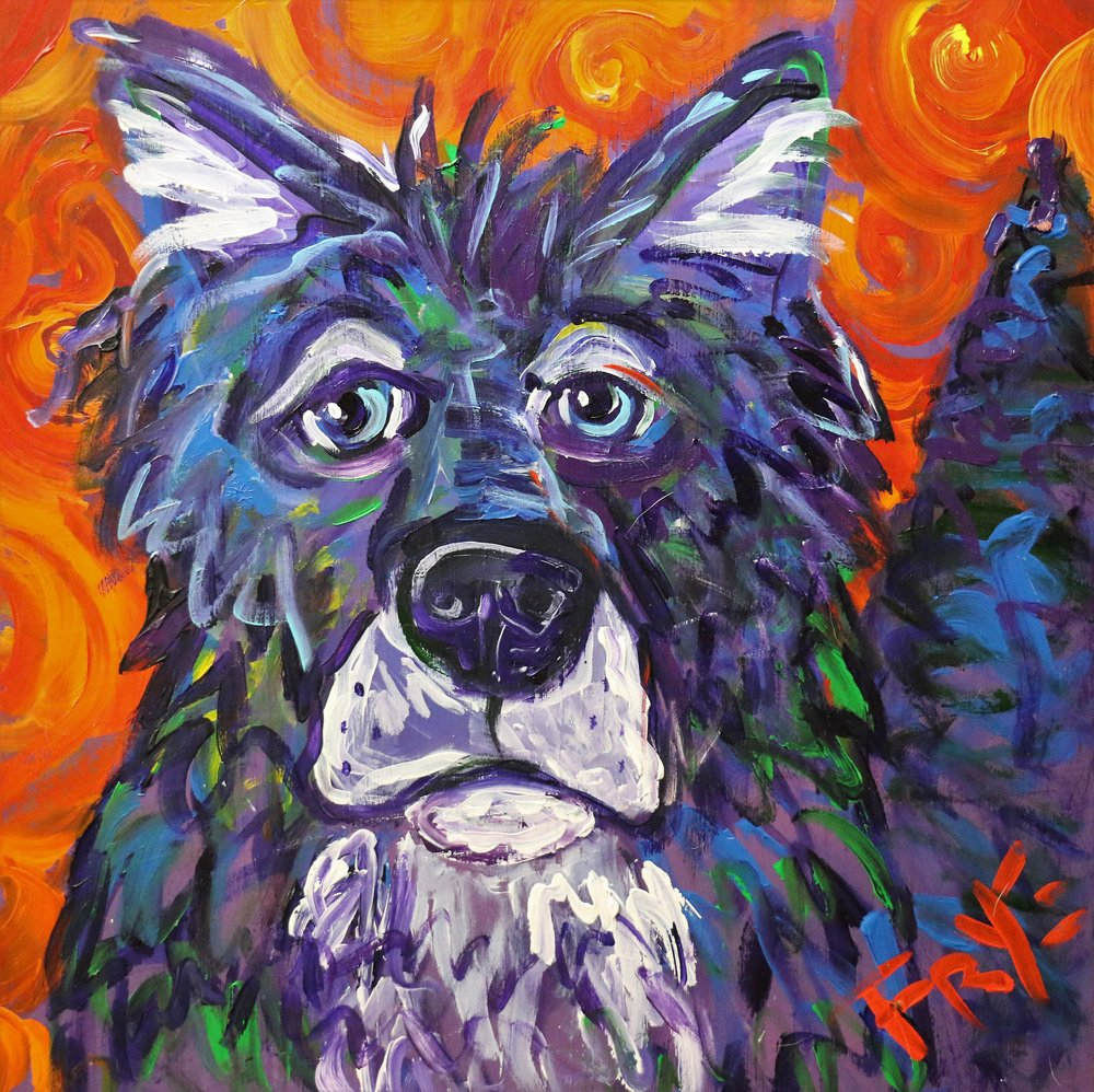 The Hound of Summer Painting by Charlie Frye .jpg