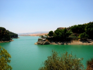 Lakes at El Chorro, Andalucia