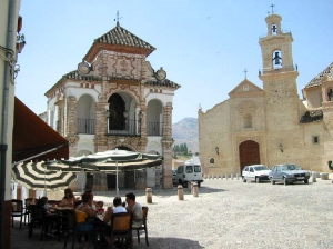 Quiet square in Antequera