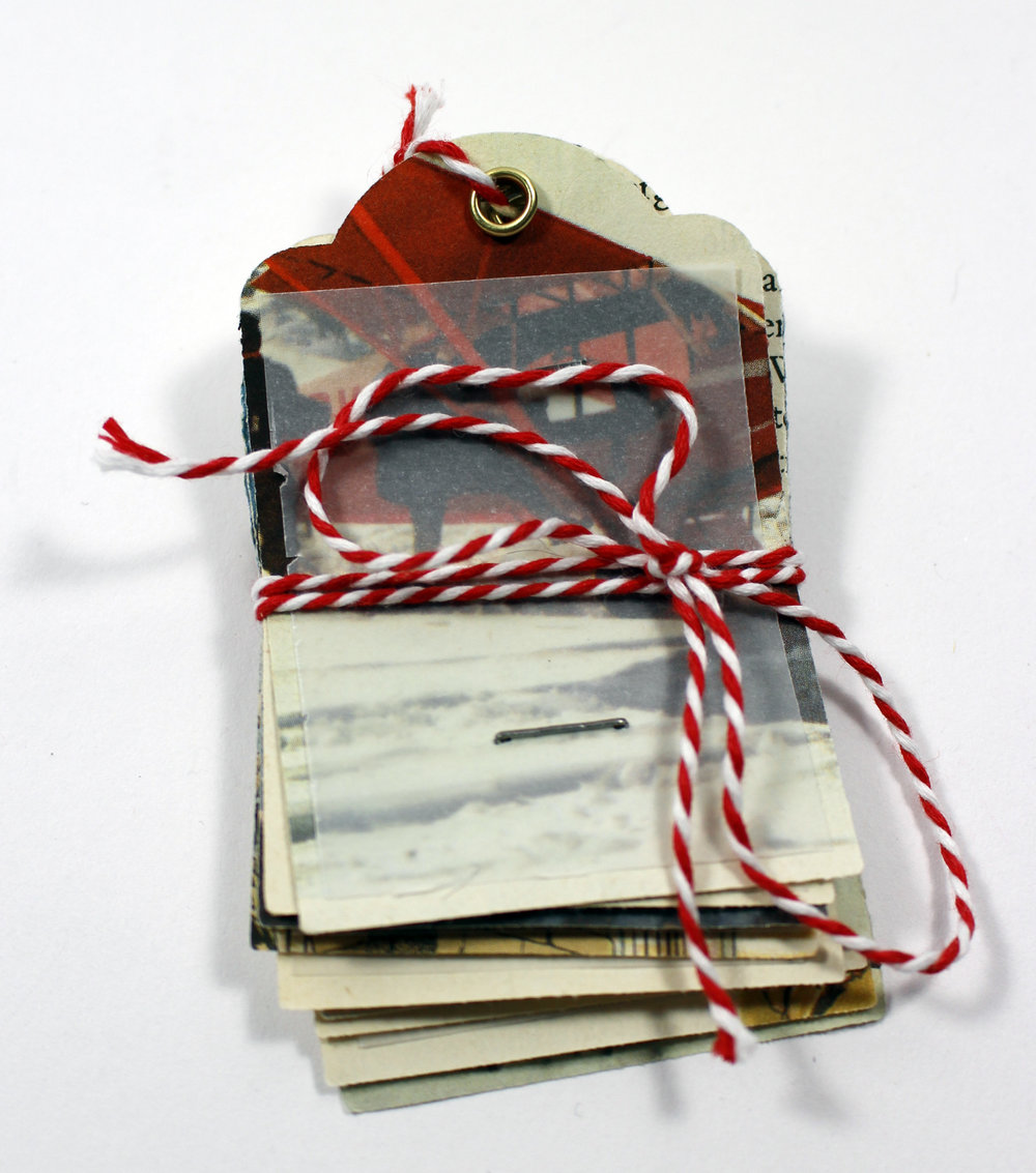 gift tags vintage paper