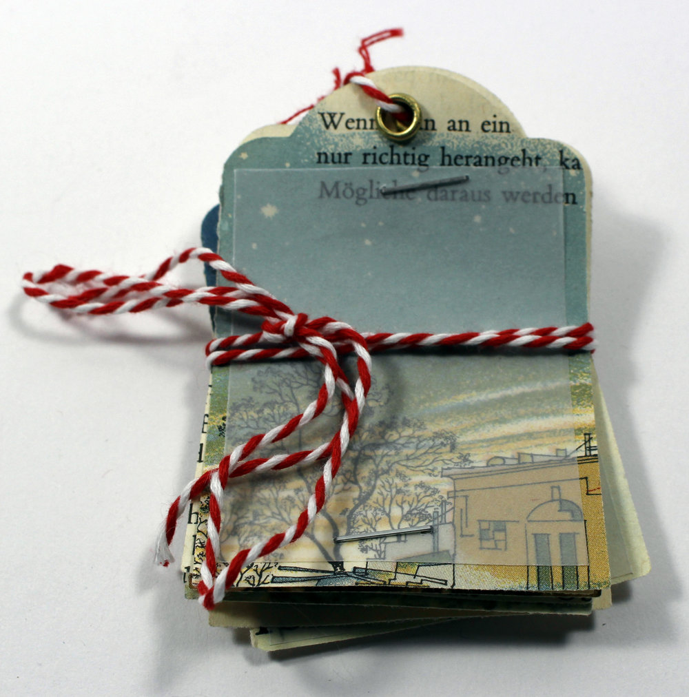gift tags Christmas vintage paper