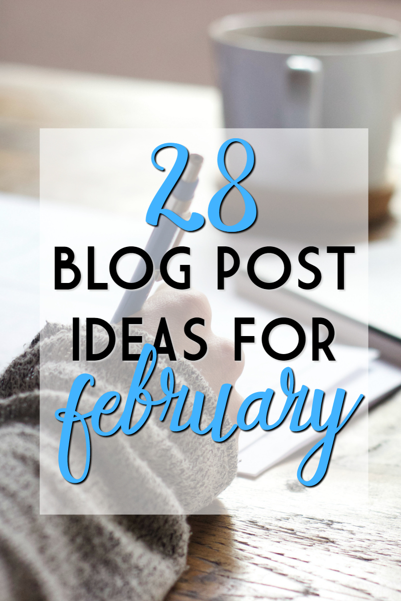 blog challenge february