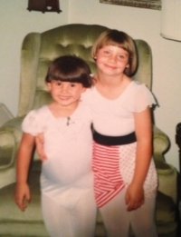 My sister and i loved dance class