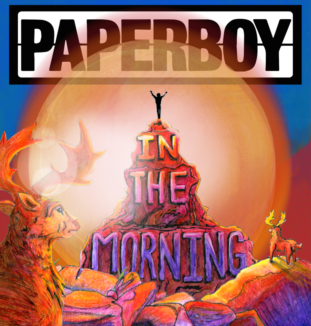 'In the Morning' by Paperboy - Artwork by Frank Coxon