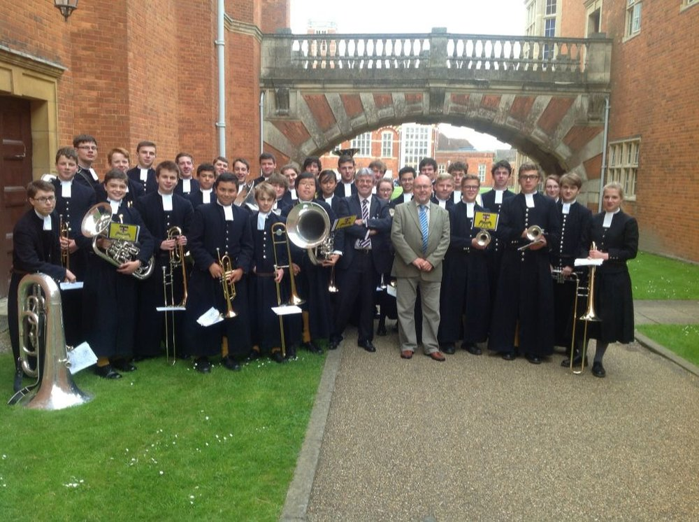Christ's Hospital Band Brass Section