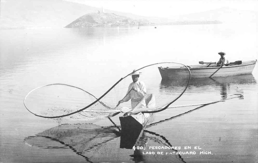 Archival Image of Isthmus fishermen.