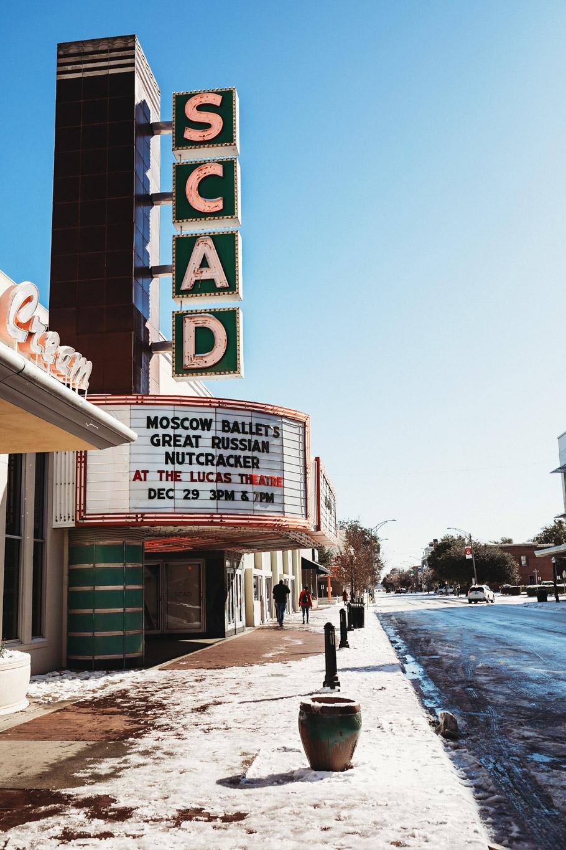 Snowy SCAD, Savannah, GA