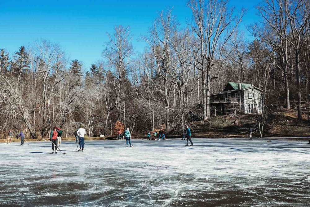 Hockey Game, Fairview, NC