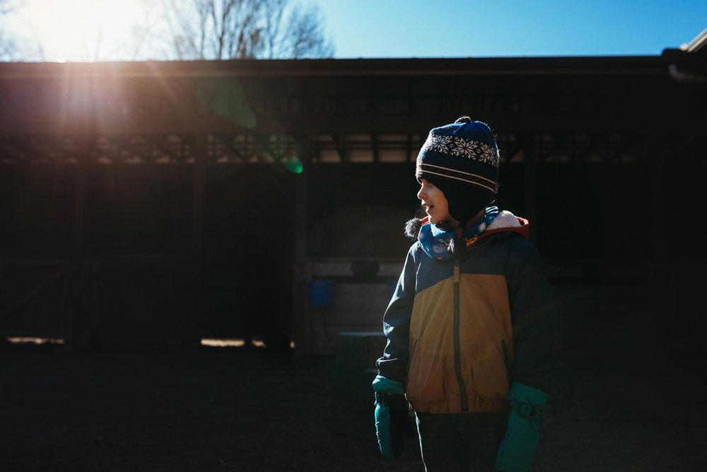 Farm Light, Fairview, NC