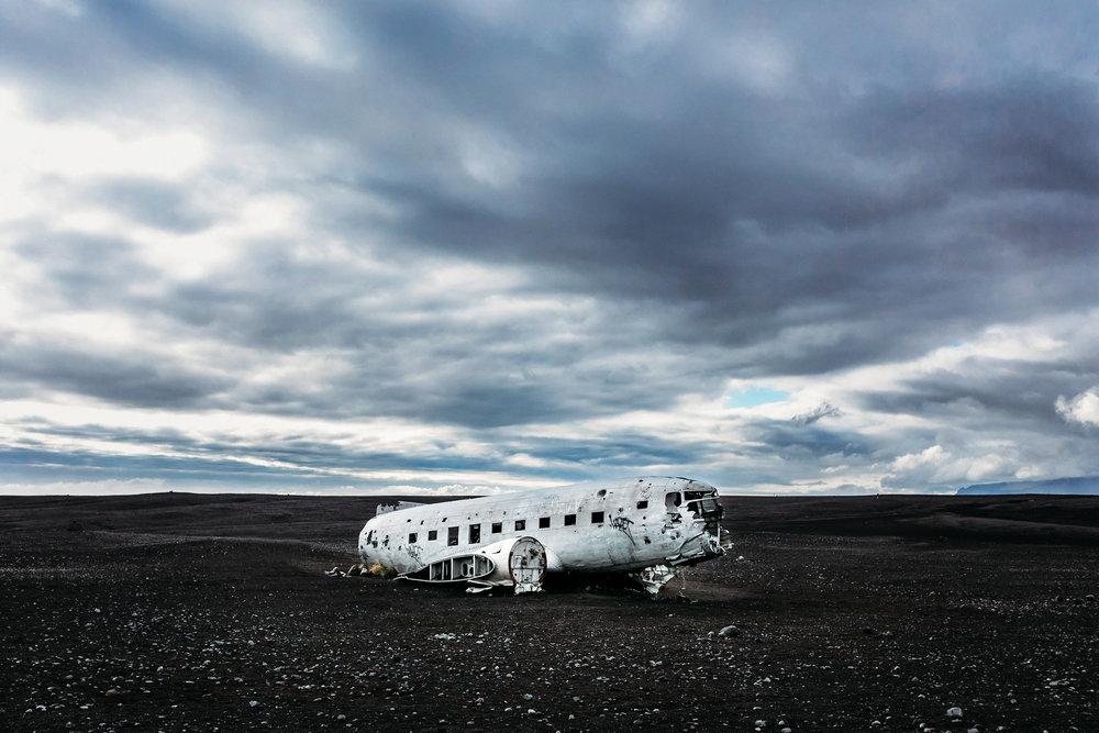 Sólheimasandur Plane Wreck. Iceland