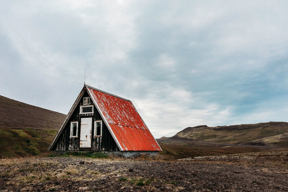 Abandoned in Iceland. Snæfellsnes Peninsula, Iceland