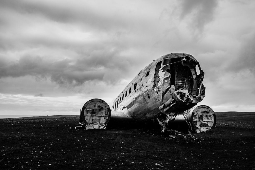 Solheimasandur Plane Wreck, Iceland