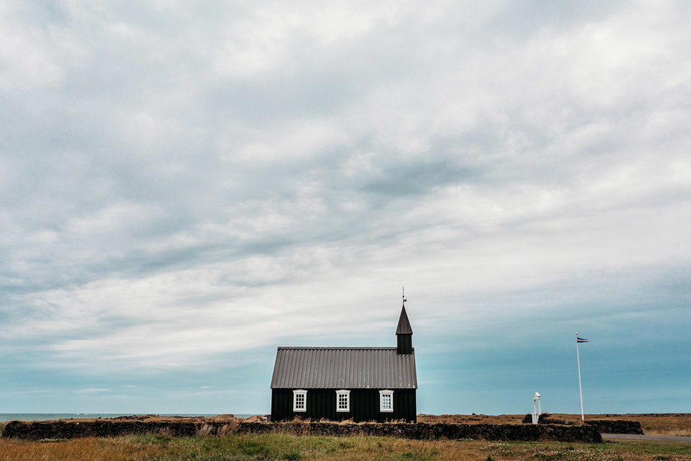 Buðir Church, Snaefellsnes Peninsula, Iceland