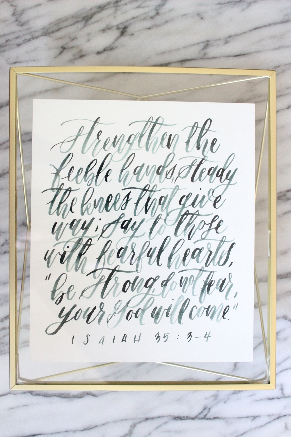 Miranda Writes | Custom Art - Bible Verse