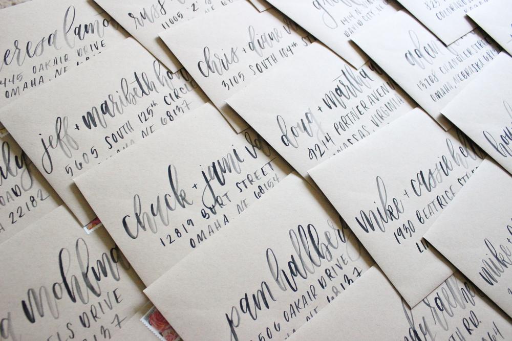 Kraft Envelopes with Black Ink