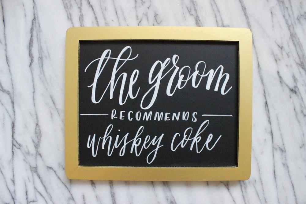 Bar Sign | Miranda Writes
