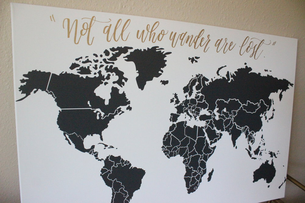 Map Calligraphy | Miranda Writes: Calligraphy and Hand Lettering
