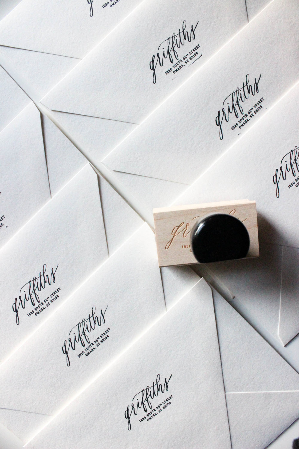 Moving Announcements | Miranda Writes Calligraphy + Hand Lettering