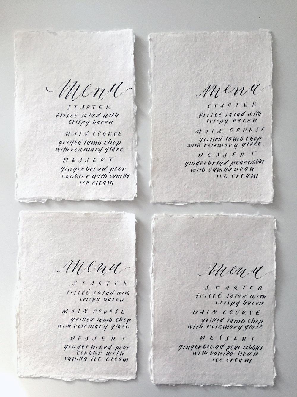 Miranda Writes | Modern Calligraphy + Lettering
