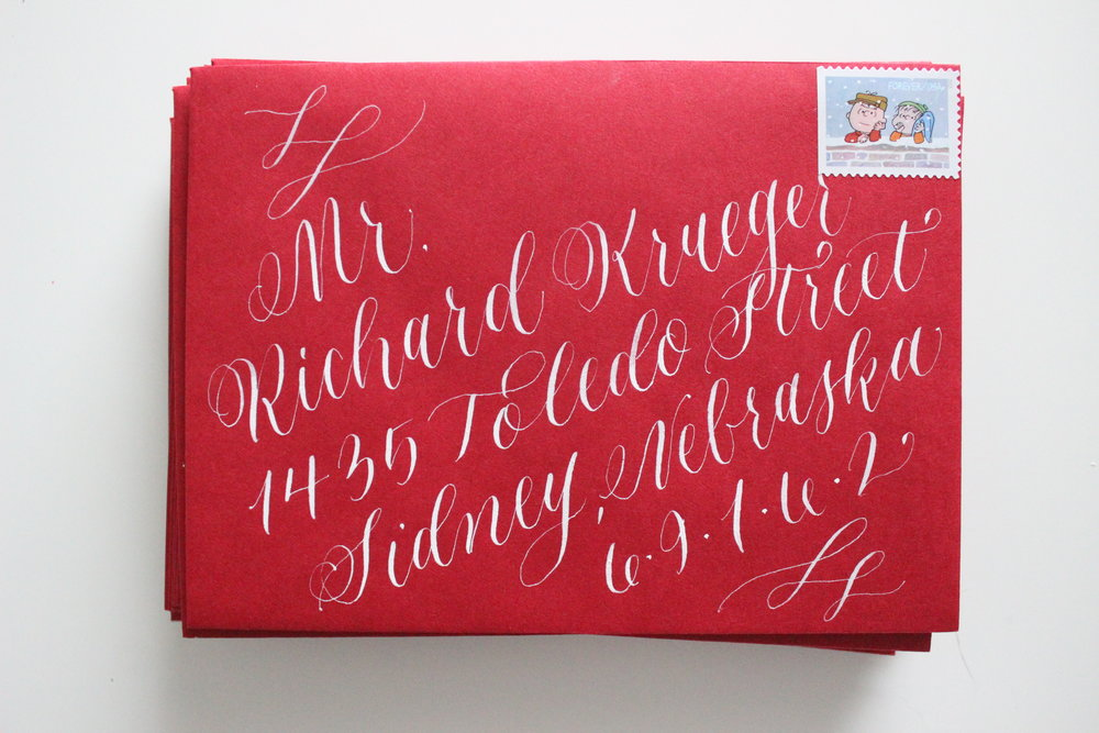 Miranda Writes | 1st Annual Holiday Card Exchange