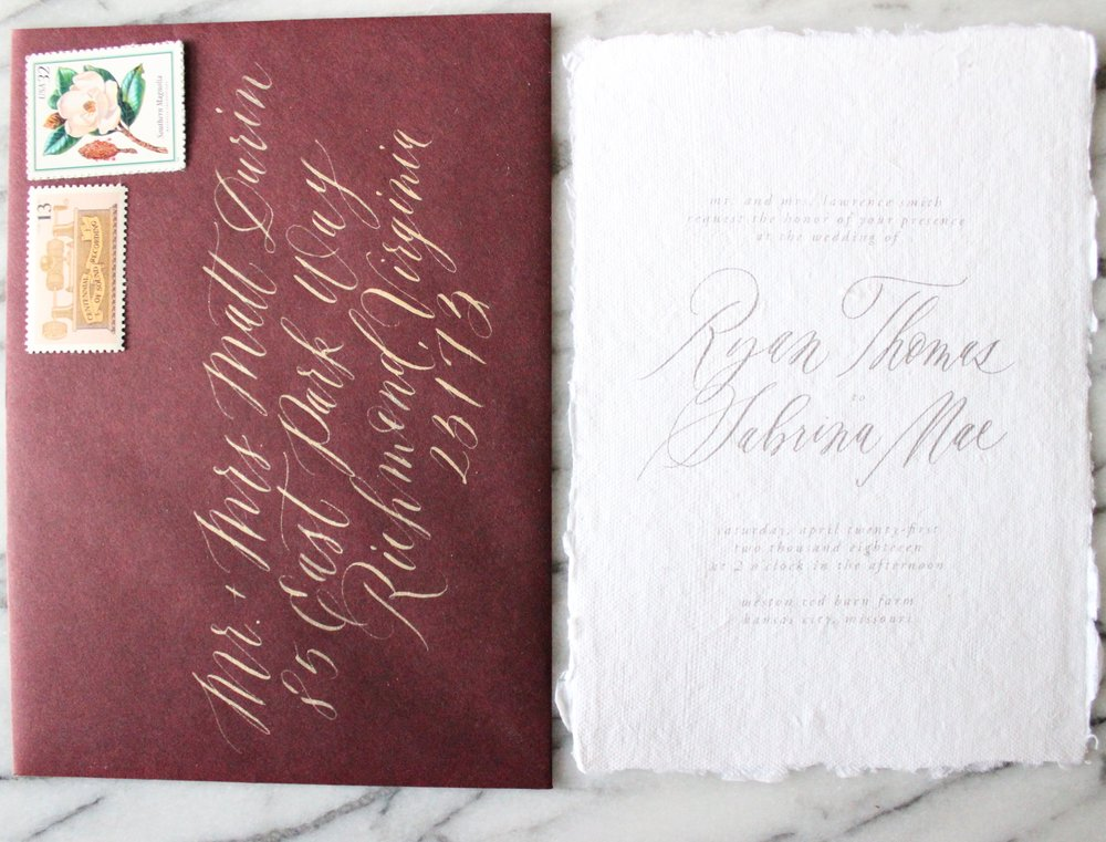 Miranda Writes | Calligraphy, Wedding Invitations, Brand + Graphic Design