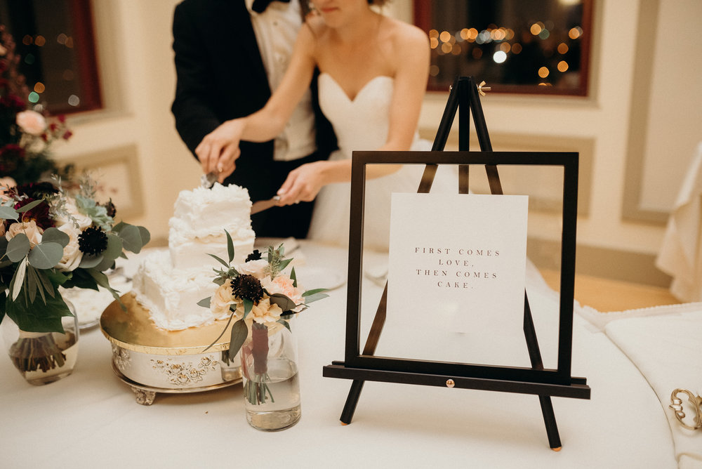 Miranda Writes | Calligraphy + Wedding Paper | Wedding Signs