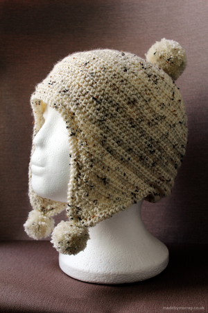 Bobble Trapper Hat Pattern — Made by Murray