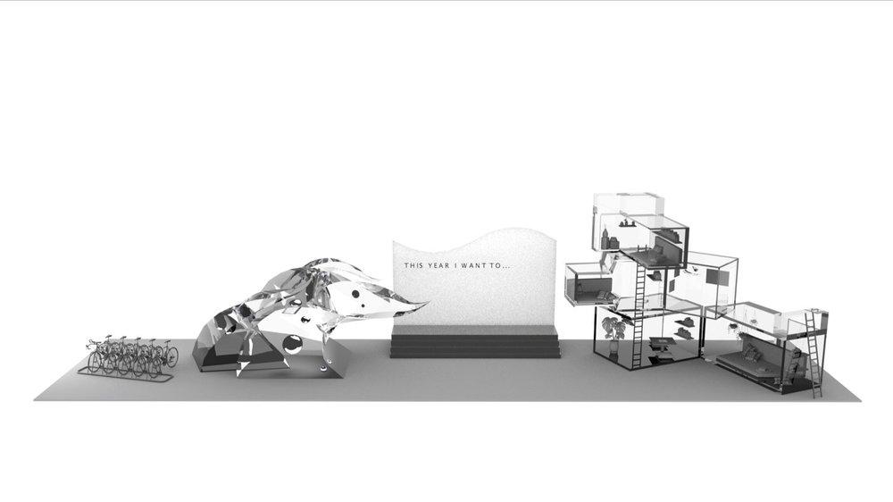 Figure 5: Wide 3D rendering