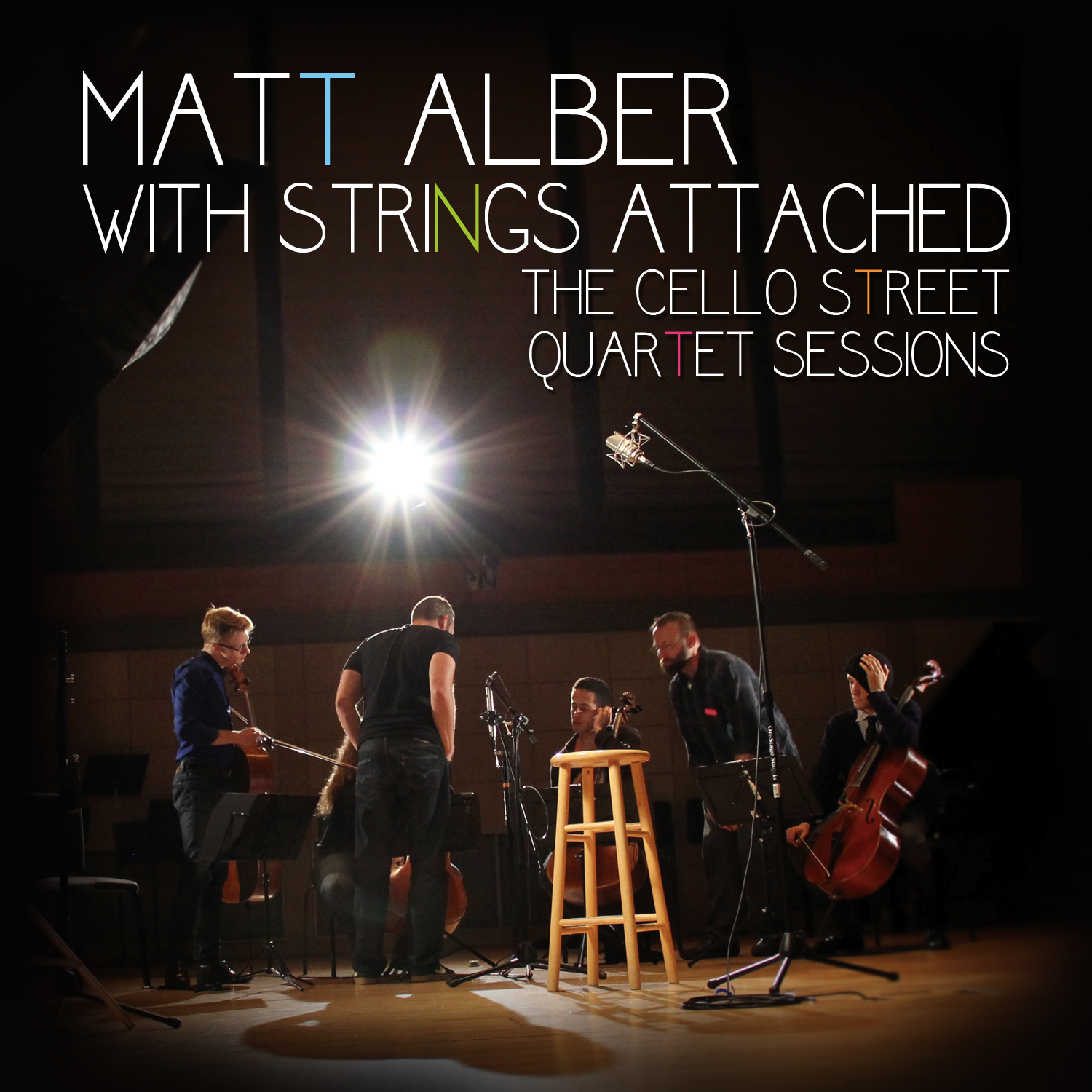 Matt Alber • With Strings Attached: The Cello Street Quartet Sessions (MP3  ALBUM)