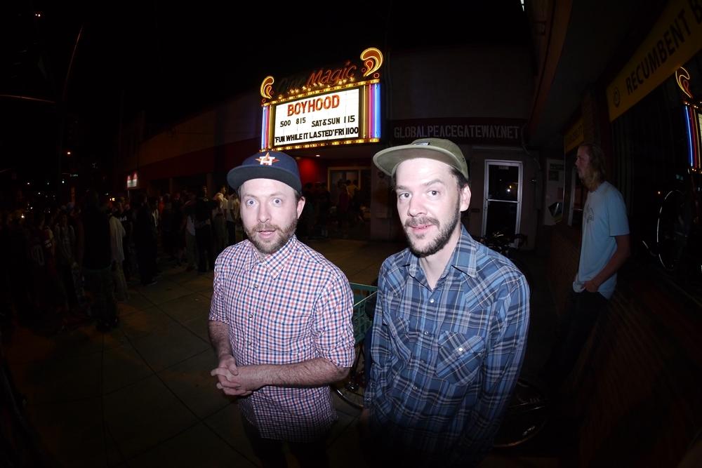 (FWIL36) Cal's Pharmacy's finest Kyle Reynolds alongside lensmaster Garric Ray..JPG