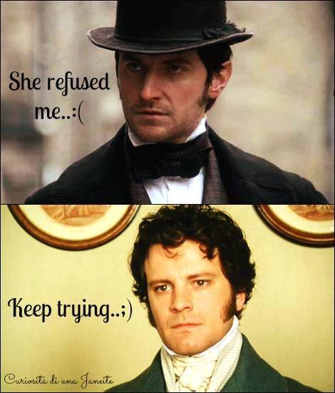 The BBC's Mr. Thornton and Mr. Darcy