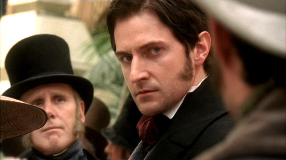 The BBC's John Thornton stares down Henry Lennox.