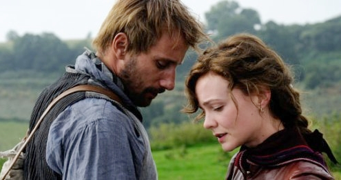 Holding in his pain one last moment. (Matthias Schoenaerts as Gabriel Oak in  Far from the Madding Crowd)
