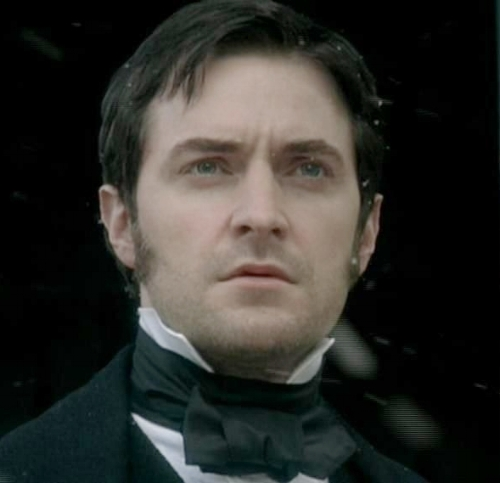 Margaret may not have looked back, but we couldn't stop staring at this forlorn face. (Richard Armitage as the BBC's John Thornton in  North and South )