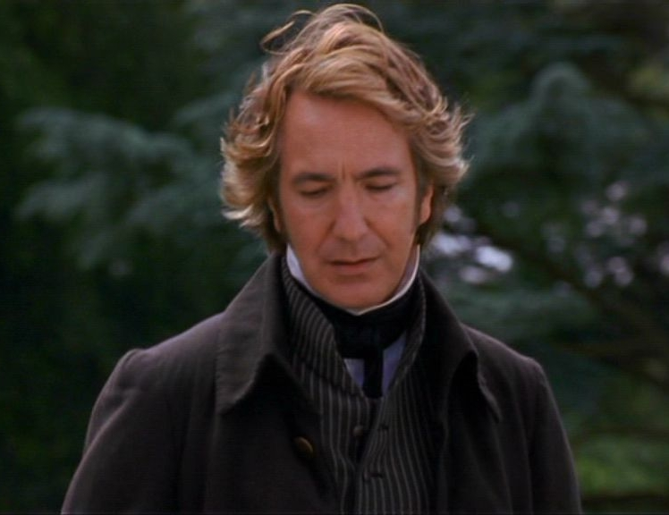 A gentle kindness pervades this man's every word and act. (Alan Rickman as Col. Brandon in Sony Pictures'  Sense and Sensibility )