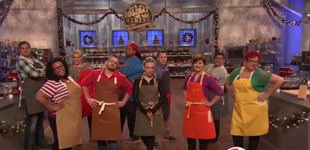 Holiday Baking Championship Season 2; Full Cast