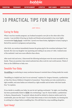 Blog-Copywriting-Babble-Baby-Care-Preview-WritePunch