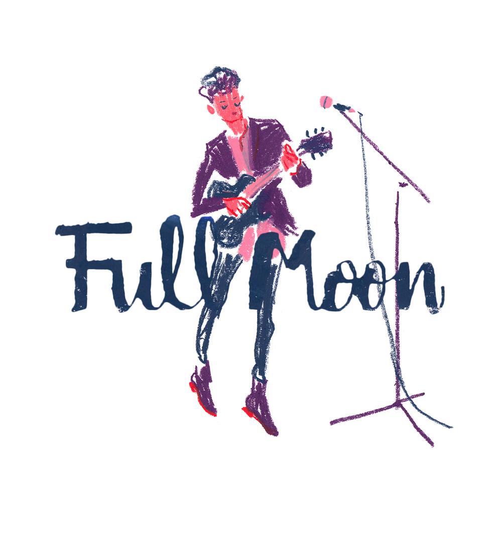 Full Moon Festival  UI/UX - 2015