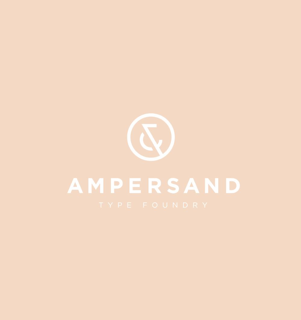 Ampersand Type Foundry Branding - 2013
