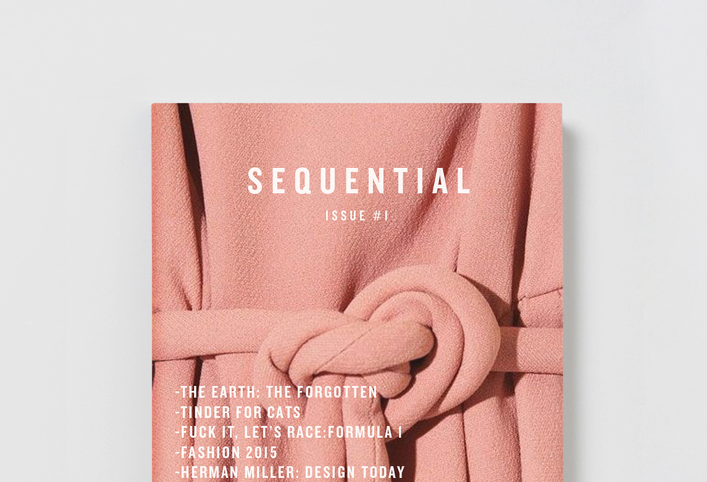 Sequential Magazine  Editorial / Print - 2015