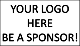 Your Logo Here; Be a Sponsor!