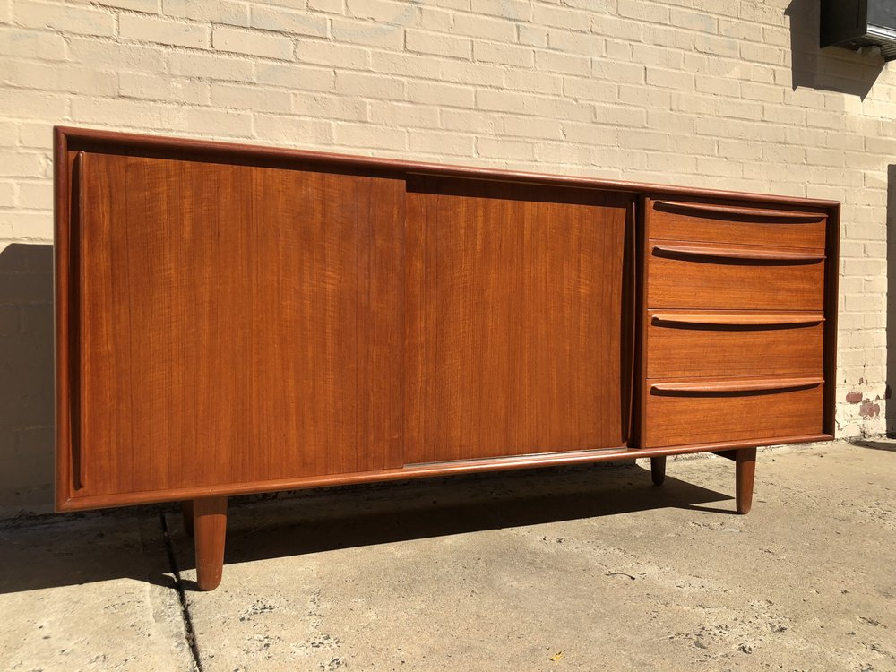 Danish Credenza Los Angeles : Danish modern credenza after mid century asian