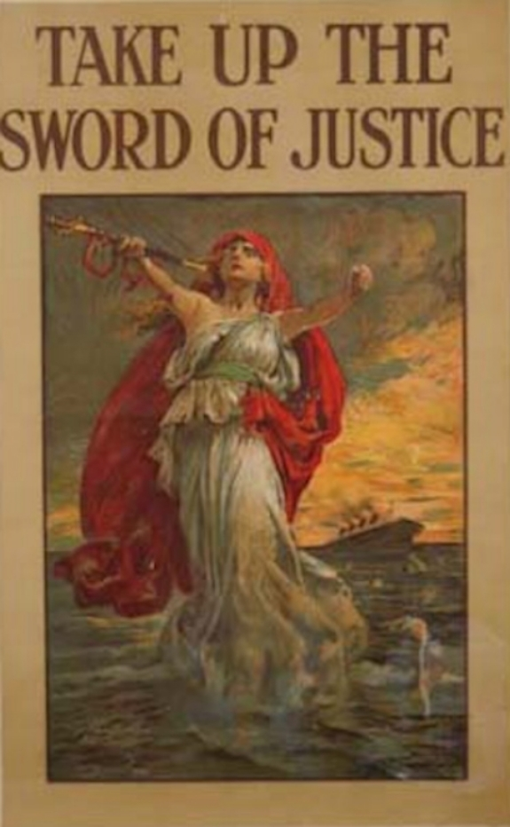 Take Up the Sword of Justice, 1914