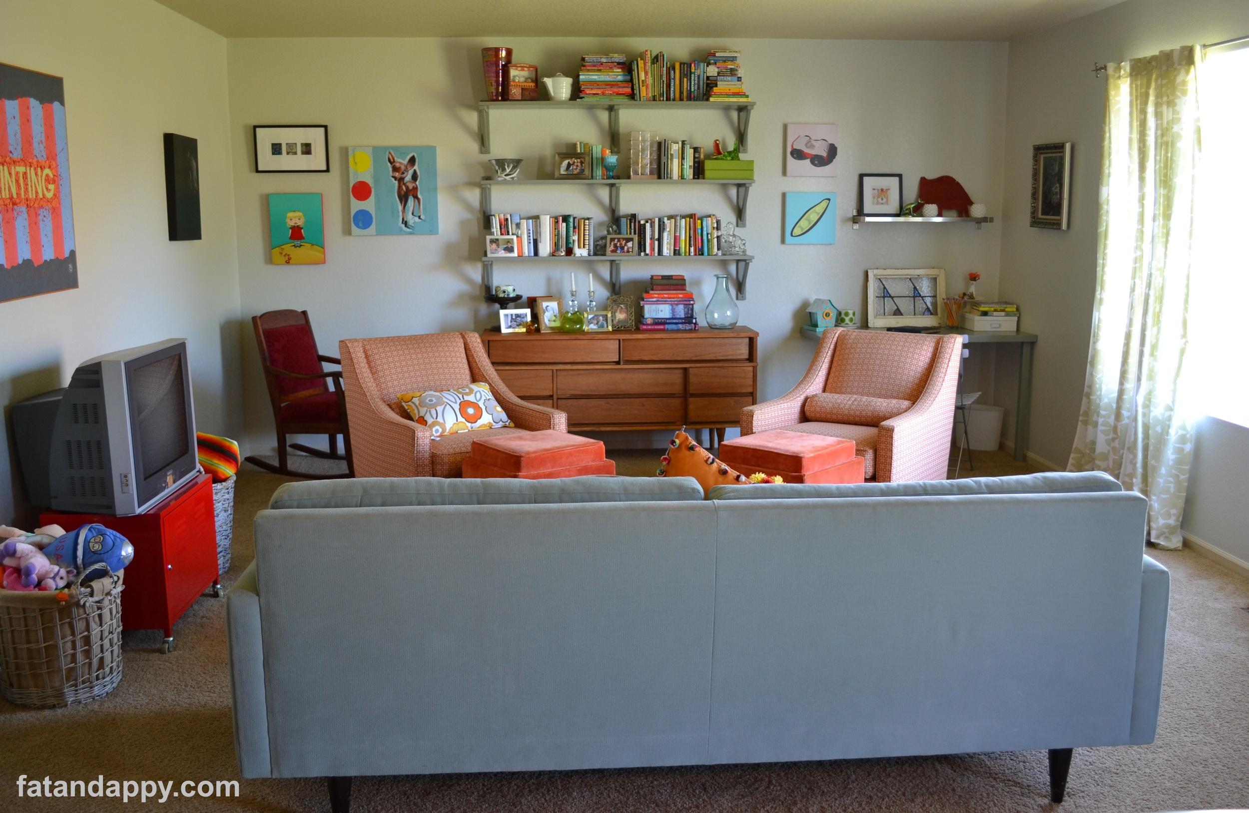 A modern family room
