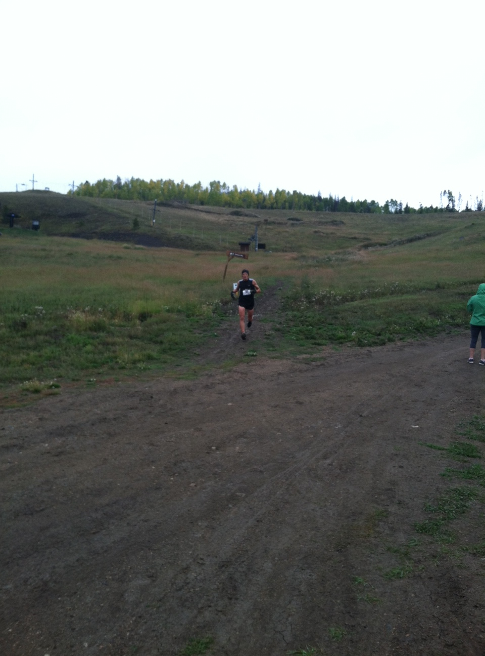 Jonathan Fenske runs the Run the Ranches trail race