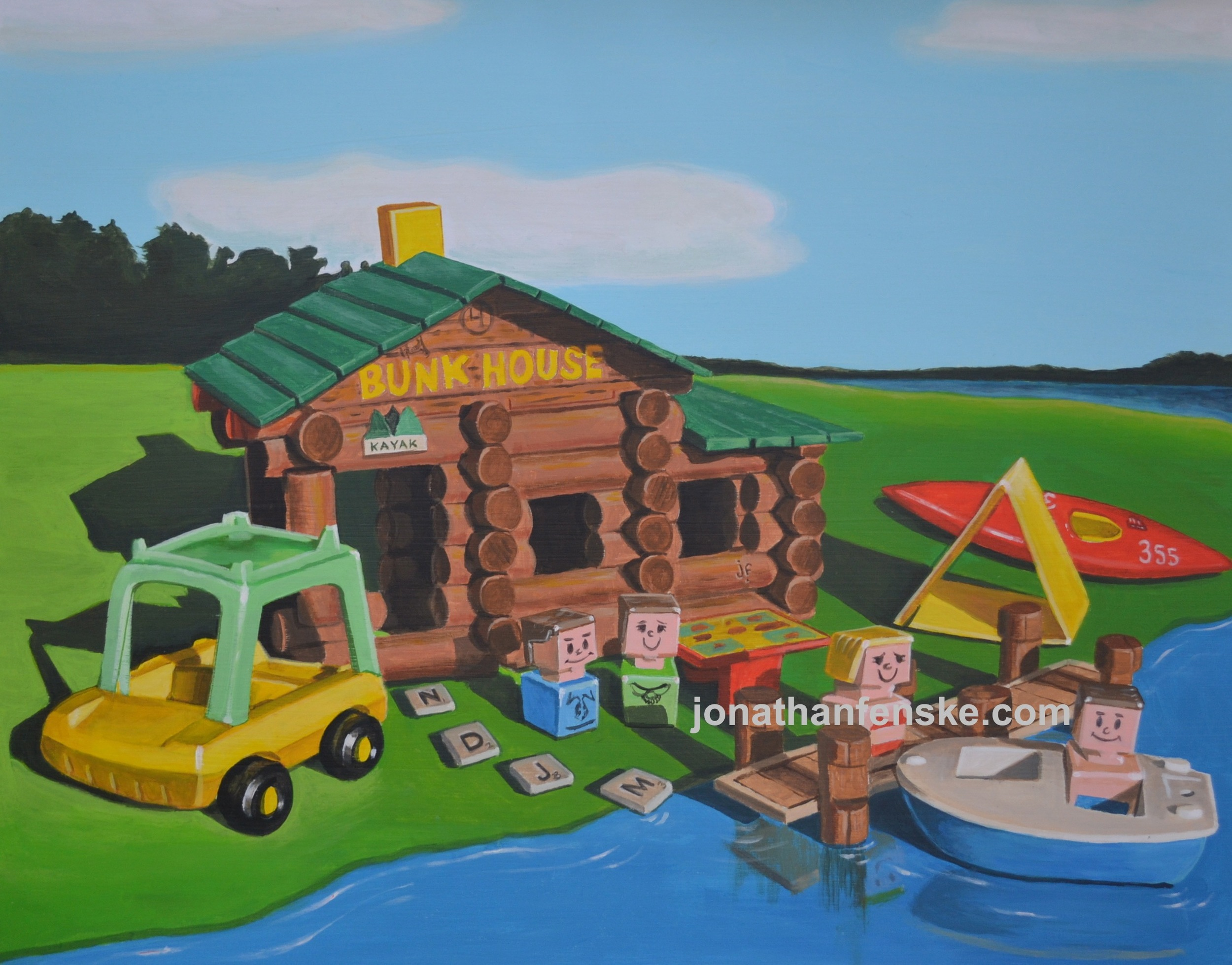 Fisher-Price-painting-by-Denver-artist-Jonathan-Fenske