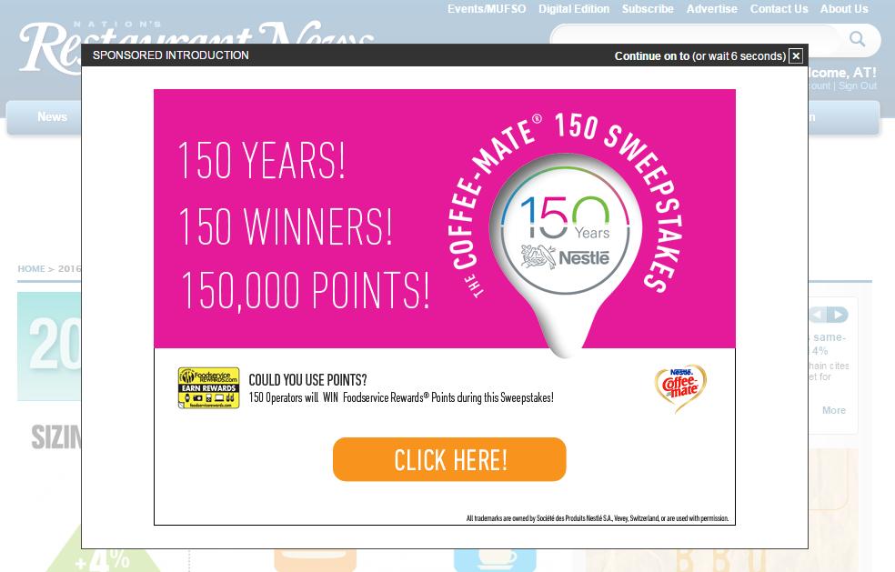 Promotion types 4 — Foodservice Rewards®