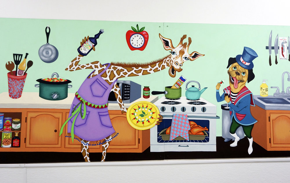 2017-Jeaneen Carlino-Mural Art-Painting-Party in the Kitchen-3.jpg