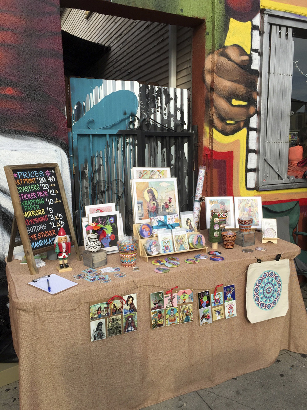 Holiday Market at Mi Vida boutique - Highland Park, CA